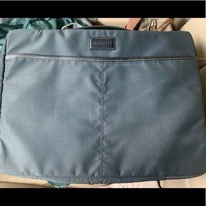 Coach laptop bag